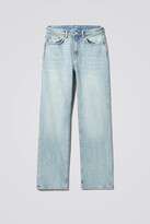 Thumbnail for your product : Weekday Voyage High Straight Jeans - Blue