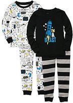 Carter's Carter's® 4-pc. Rocket Ship Pajamas - Boys 2t-5t