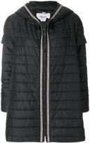 Blugirl embellished padded jacket