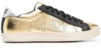 P448 John Goldie metallic low-top sneakers