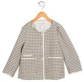 Bonpoint Girls' Textured Jacket