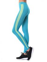 Aqua & Lime Seamless Legging