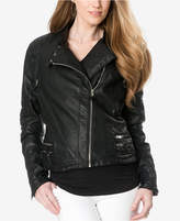 A Pea in the Pod Maternity Faux-Leather Jacket