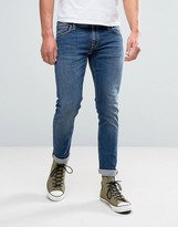 Nudie Jeans Long John Jean Television Blue Wash