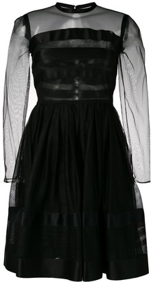 Chanel Pre Owned 1990's Fit-And-Flare Dress