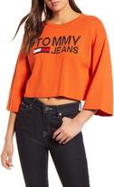 Tommy Jeans Crop Logo Sweater