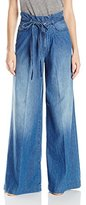 7 For All Mankind Women's Runway Palazzo in