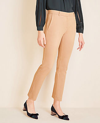 Ann Taylor The Petite Ankle Pant In Twill Ponte