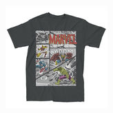 JCPenney Novelty T-Shirts Marvel Avengers Panel Tee