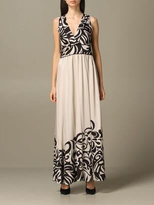 Pinko Long Printed Dress
