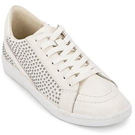 Dolce Vita Women's Nino Studded Lace Up Sneakers