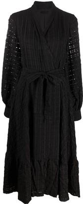 Stine Goya Broderie Midi Dress