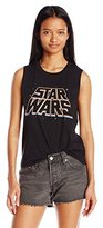 Star Wars Women's Slanty Logos Graphic Tee