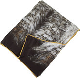 Roberto Cavalli Cinci Silk Bedspread - Natural - 180x130cm