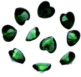 HOUSWEETY 50PCs Floating Charms Fit Living Locket Heart Birthstone