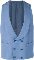 Canali formal waistcoat - men - Silk/Linen/Flax/Cupro - 46