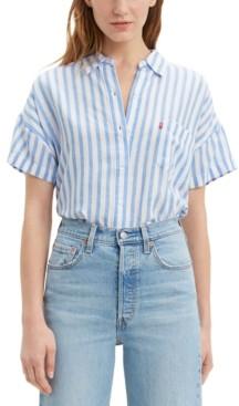 Levi's Striped Alexandra Shirt