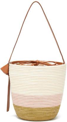 Cesta Collective Ficelle Two-Tone Bucket Bag