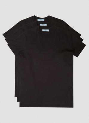 Prada Crewneck Three-Pack T-Shirts