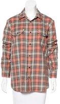 Marc Jacobs Plaid Long Sleeve Shirt