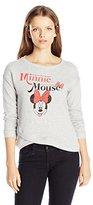 Disney Women's Minnie Mouse Wrapped Sweatshirt