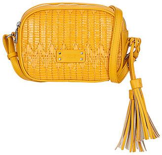 Fuchsia ELISE women's Shoulder Bag in Yellow