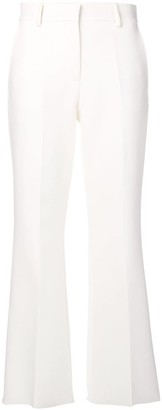 MSGM Flared Tailored Trousers