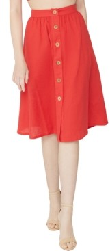 BCBGeneration A-Line Midi Skirt