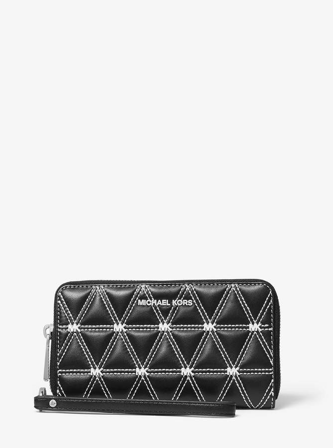 81cff7e654a3 Large Leather Clutch - ShopStyle
