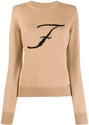 Fay F monogram jumper