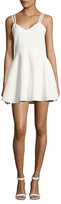 French Connection Crossback Fit--Flare Dress