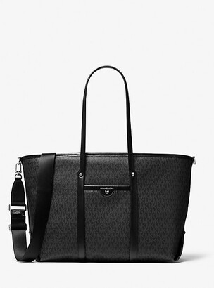 MICHAEL Michael Kors MK Beck Large Logo Tote Bag - Black - Michael Kors