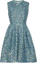 Dice Kayek Sequin Mini Dress
