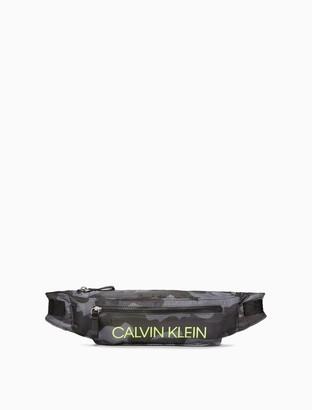Calvin Klein Performance Camo Logo Belt Bag