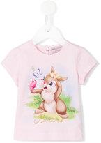 MonnaLisa print T-shirt - kids - Cotton/Spandex/Elastane - 6 mth