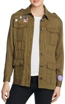 Honey Punch Patch Army Jacket