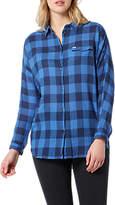 Lee One Pocket Check Shirt, Deep Indigo