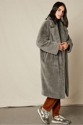 Hartford Vaderi Faux Fur Coat - 8