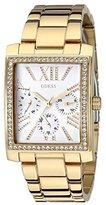 GUESS Women's U0446L2 Stunning Retro Gold-Tone Multi-Function Watch