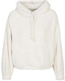 Billabong WARM REGARDS women's Fleece jacket in White