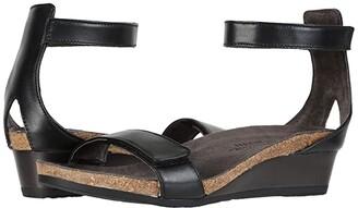 Naot Footwear Mermaid (Black Raven Leather) Women's Shoes