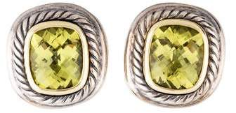 David Yurman Citrine Albion Clip-On Earrings