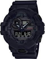 G-Shock Men's Analog-Digital Anniversary Model Black Resin Strap Watch 53.4mm