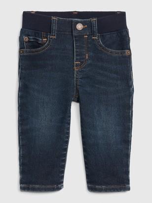 Gap Baby Knit-Denim Straight Jeans