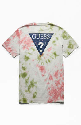 GUESS Tie-Dyed Oversized Logo T-Shirt