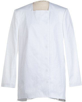 N°21 N21 White Cotton Jacket for Women