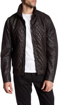 Rogue Faux Leather Quilted Jacket