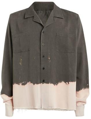 Rhude Bleach-Distressed Shirt