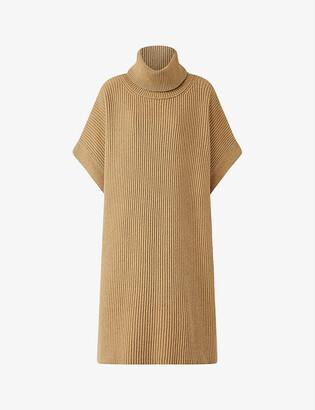 Joseph Ribbed-knit wool midi dress