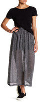 French Connection Flicker Rib Maxi Skirt